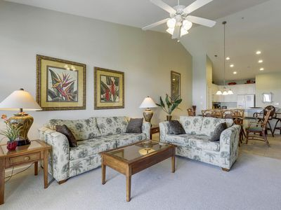 Photo for Upscale & Beachy Resort Condo - Short Walk to Pools, Clubhouse & Private Beach