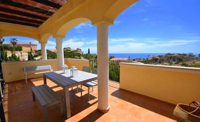 Photo for Fantastic villa with sea views