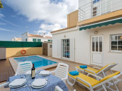 Photo for 3 bedroom Villa, sleeps 6 in Pêra with Pool, Air Con and WiFi