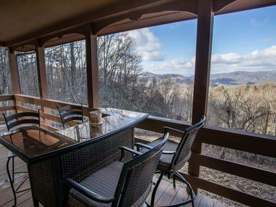 Photo for Peaceful 5BR Mtn Retreat, Views, Firepit, Hiking & Fishing Nearby