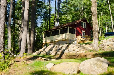 Great Sacandaga Lake 3BR Cabin with 200' Direct Frontage and Dock - Hadley