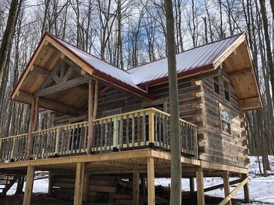 Photo for Off-the-Grid Log Cabin