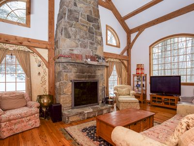 Photo for Stratton - Spectacular Home - 13 minutes (8 miles) door-to-door to base lodge