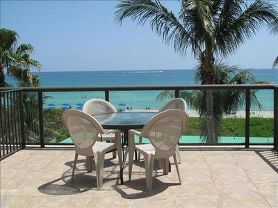 Photo for Amazing/Direct Ocean Front/Huge Balcony/Endless Views/Kitchen - NEWLY RENOVATED!