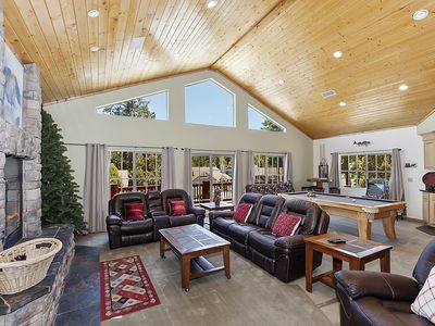 Photo for Sky View Lodge: Incredible Sky Valley Estates Offering Panoramic Meadow & Mountain Views! Spa!
