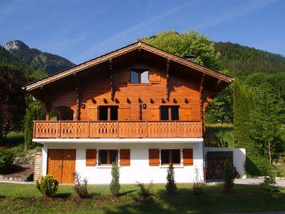 Photo for Luxury chalet - Fireplace - WiFi – Sunny Terrace – Portes du Soleil