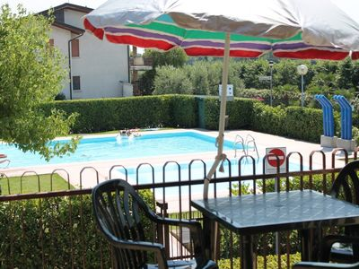 Photo for Holiday apartment with new swimming pools and quiet