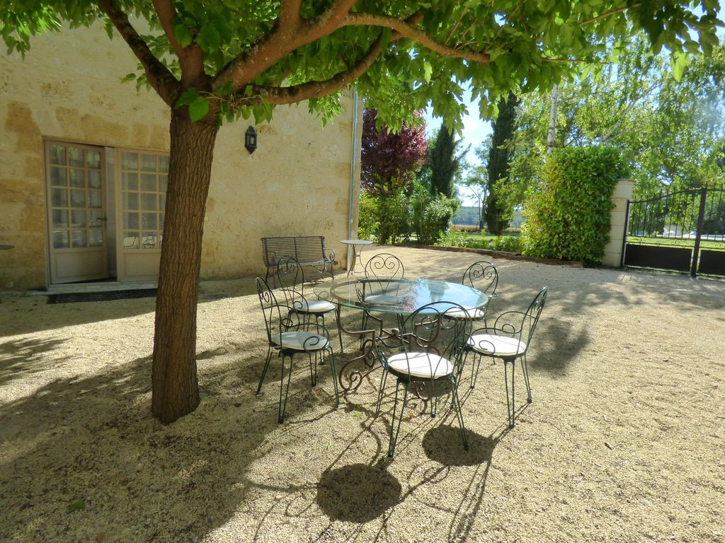 Peaceful Gascon Cottage With Swimming Pool And Tennis Court Near Condom Castelnau Sur L