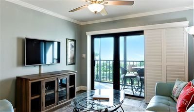 Photo for Land's End #302 building 10 - FULLY updated/Private balcony facing the GULF!!