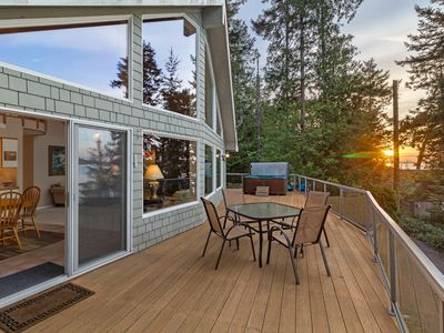 Photo for NEWLY LISTED! WATERFRONT! Near Roche Harbor with views of Spieden Island