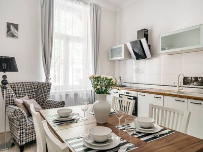 Photo for Bright modern and cosy apartment in historical part of the Old Town
