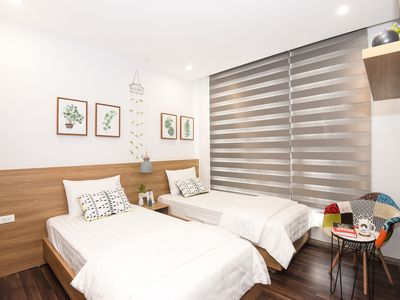 Photo for Apartment in a Luxury @Vinhomes Green Bay Hanoi with @02 Bedrooms