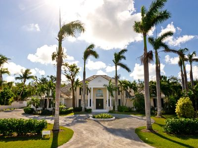 Photo for Stunning 4 bedroom retreat w/pool, golf cart, nearby beach access boat dock