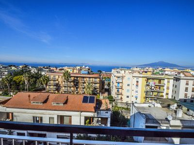 Photo for Sorrento center apartment with sea view