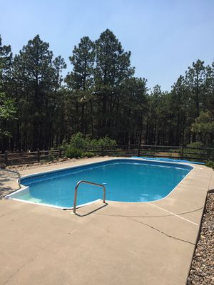 Photo for Durango Home On 35 Pine Acres With Private Outdoor Heated Pool & Close To Town