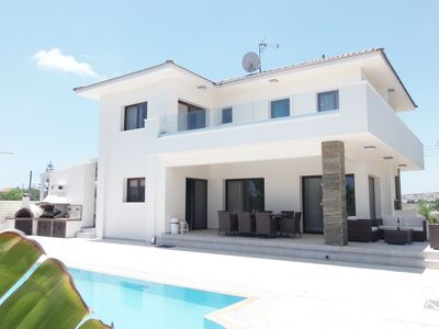 Photo for Villa Grace, Exquisite Protaras 4BDR Villa with Private Pool and Hot Tub