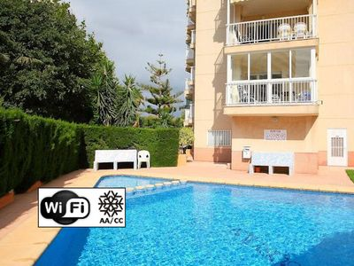Photo for Apartment with pool 100 meters from the beach in Calpe