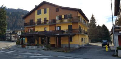 Photo for Bright apartment in the center of Ponte di Legno near the ski slopes