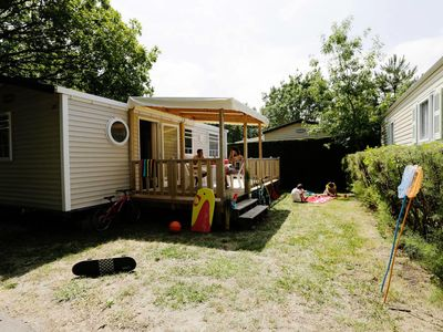 Photo for Camping Les Flots Bleus **** - Mobil Home TV 4 Rooms 6 People