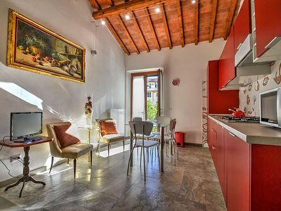 Photo for Appartamento Amos A: A welcoming apartment situated a few minutes from the town center, with Free WI-FI.