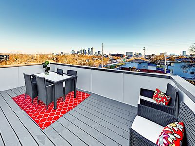 Photo for New Townhome w/ Rooftop Deck -- Near Downtown Honky Tonks, Dining & Shops