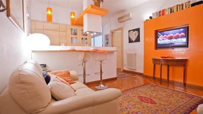 Photo for Apartment 582 m from the center of Rome with Internet, Air conditioning, Washing machine (912420)