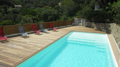Photo for Faounzina villa n ° 2 for 4 people, barbecue terrace and communal swimming pool