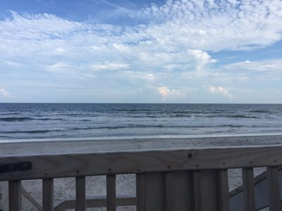 Photo for Salty Air Retreat-private beach access, family/pet friendly