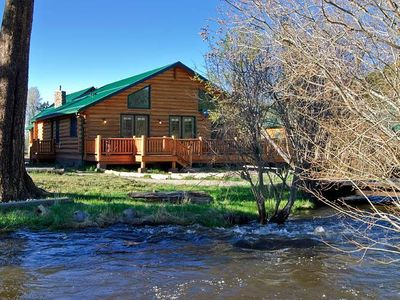 at cabins rentals rental arizona mountains for river the colorado rent az little lodges white cabin greer in