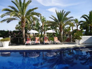 Luxury 5 *, in Moraira, Caribic Flair, South, Meerbl Servic, Spa, WiFi, All. incl.