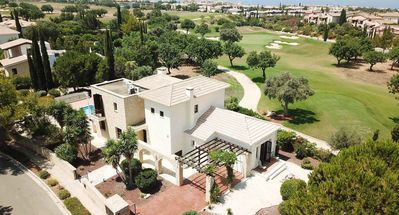 Photo for Detached 4 bedroom 4 ba Villa with Private Pool on the Golf Course with Sea View