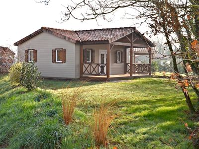 Photo for Chalet at Domaine du Pré with outdoor swimming pool
