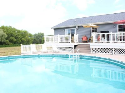Photo for ★ Spacious • Pool • 15 min to Grand Rapids • Family & Pet Friendly • CLEAN •