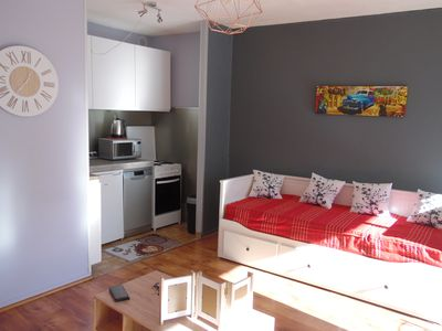 Photo for APARTMENT T. 2 downtown BRIANCON