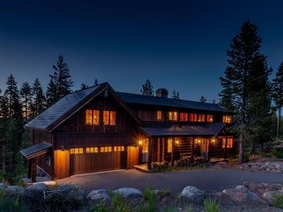 Photo for STUNNING LOG HOUSE & A COOK'S PARADISE!