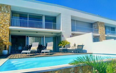 Photo for Vila Ray Design - Modern Villa with private pool heated in Albufeira.
