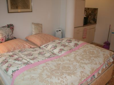 Photo for Studio Apartment in Hamburg Wandsbek Deluxe with double bed