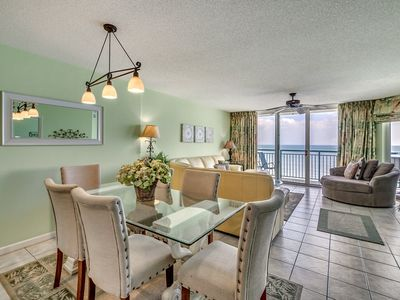 Photo for Windy Hill Dunes 1203, 3 Bedroom Beachfront Condo, Hot Tub and Free Wi-Fi!
