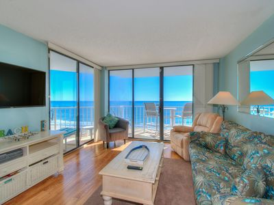 Photo for Beautiful 2 Bedroom 2 Bath Direct Ocean Front! - Booking 2019!