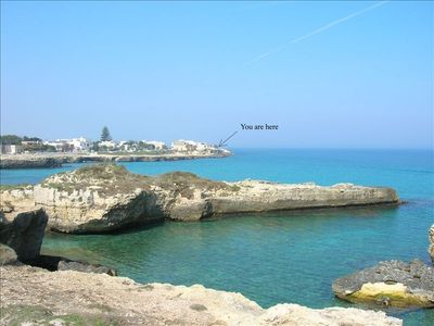A panoramic view of a place of Roca,very close to the house.