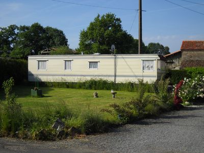 Photo for Static Mobile Home located on private land with private parking