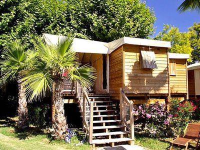 Photo for Camping Les P��cheurs **** - Safari Tent 3 Rooms 5 People