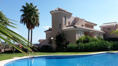 Photo for 5* townhouse in exclusive gated community with superb pools and gardens