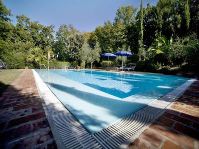 Photo for Beautiful private villa with private pool, A/C, WIFI, TV, patio, pets allowed and parking