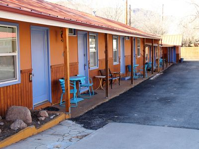 Photo for Dog-friendly downtown getaway w/ a shared hot tub - near Arches National Park