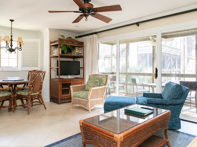 Photo for Premier One Bedroom Beach Villa - Just Feet from the Beach!