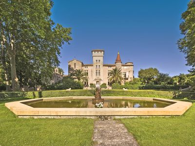 Photo for 10 bedroom Chateau, sleeps 14 with Pool and FREE WiFi