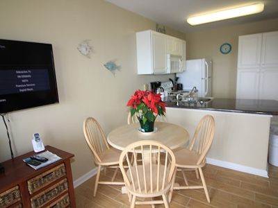 Photo for ALL SPRING RATES REDUCED BY 20%, BOOKING FAST.  GRAND CARIBBEAN 202  Perfect 2 bedroom 1 bath Condo in Orange Beach Across the street from the Beach with a beautiful view of the Gulf of Mexico!!  QUOTE COMES WITH 1 PARKING PASS.
