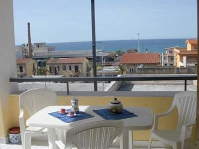 Photo for Apartment/ flat - with wonderful view of the beach