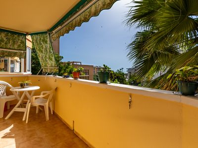 Photo for Central Apartment Torremolinos Vistas Mar with Sea View, Balcony, Wi-Fi & Air Conditioning; Parking Available